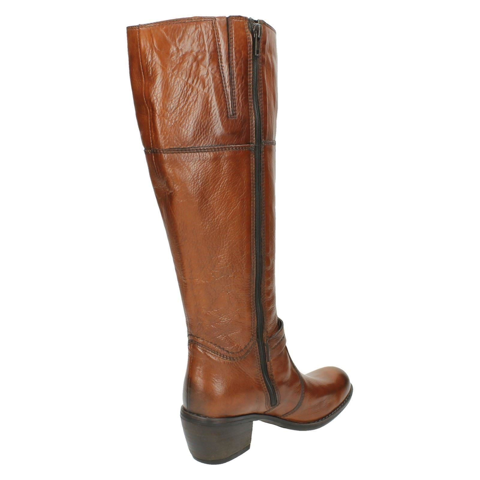 clarks knee high boots mascapone mix ebay