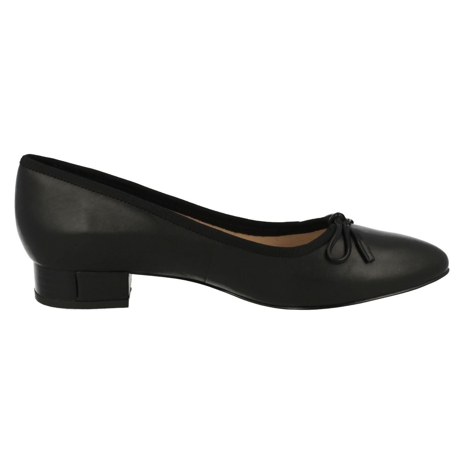 Ladies Clarks Low Heel Smart Slip On Shoes Eliberry Isla
