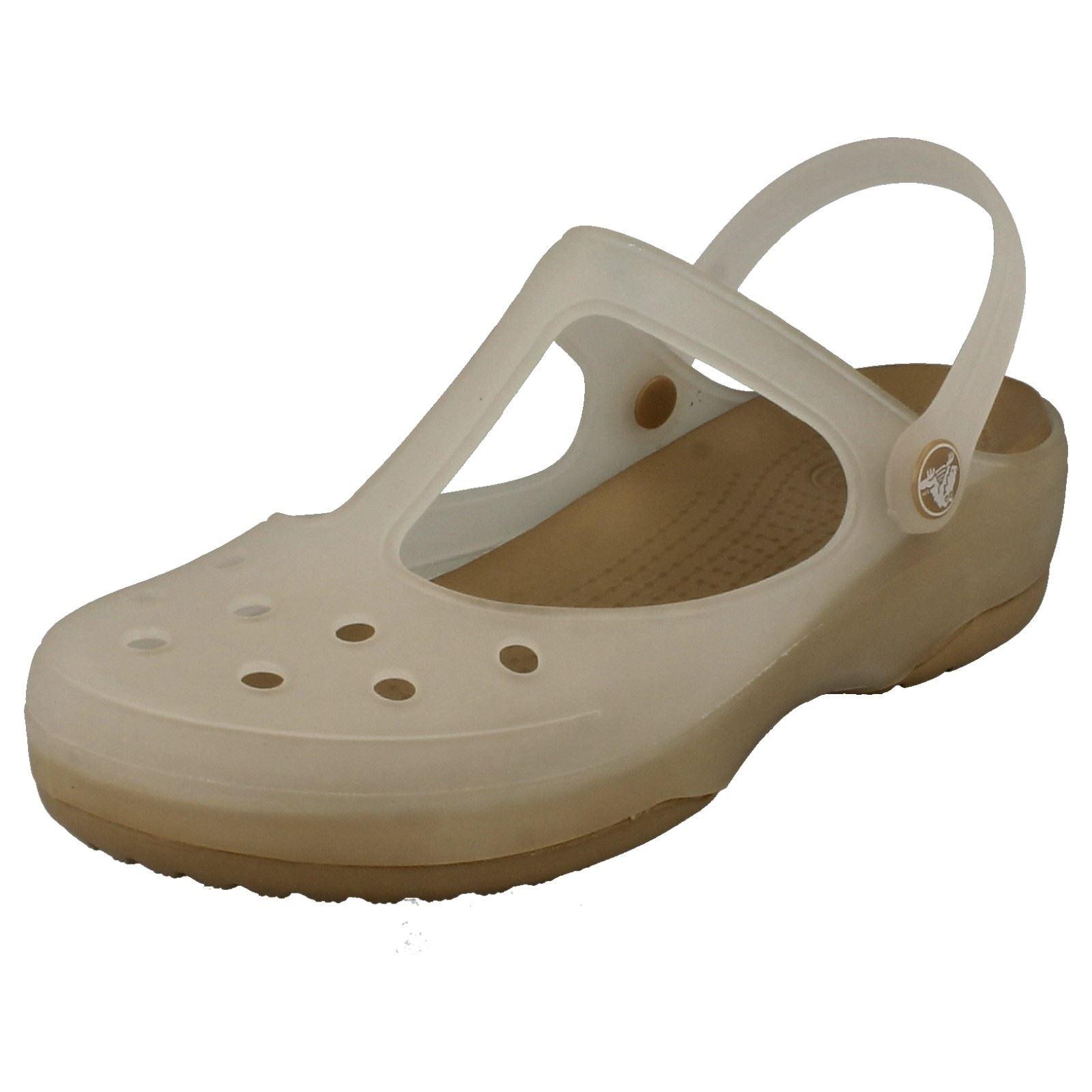 Ladies Crocs Slip On Sandals Carlie Mary Jane | eBay - photo#49