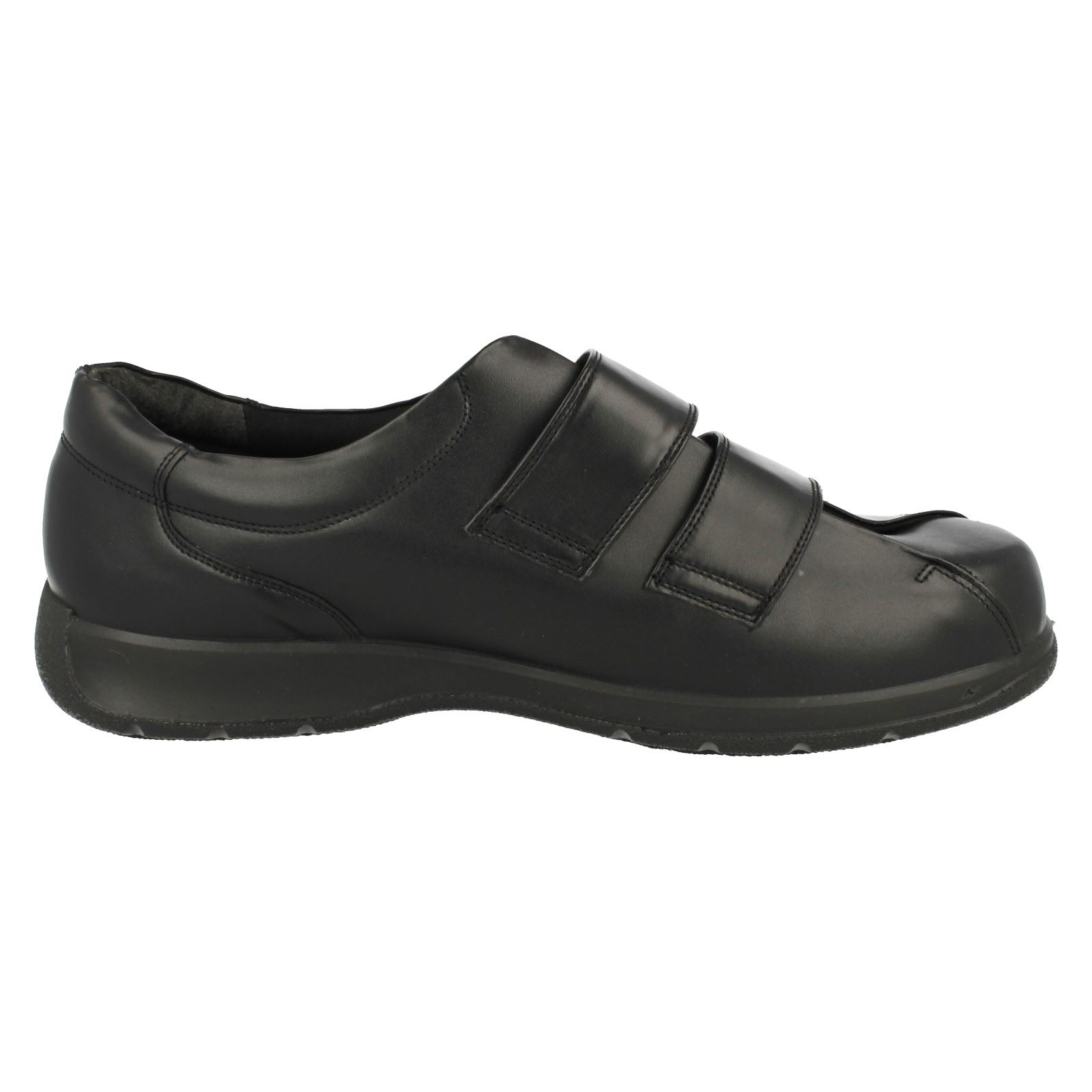 Wide Fitting Velcro Mens Shoes