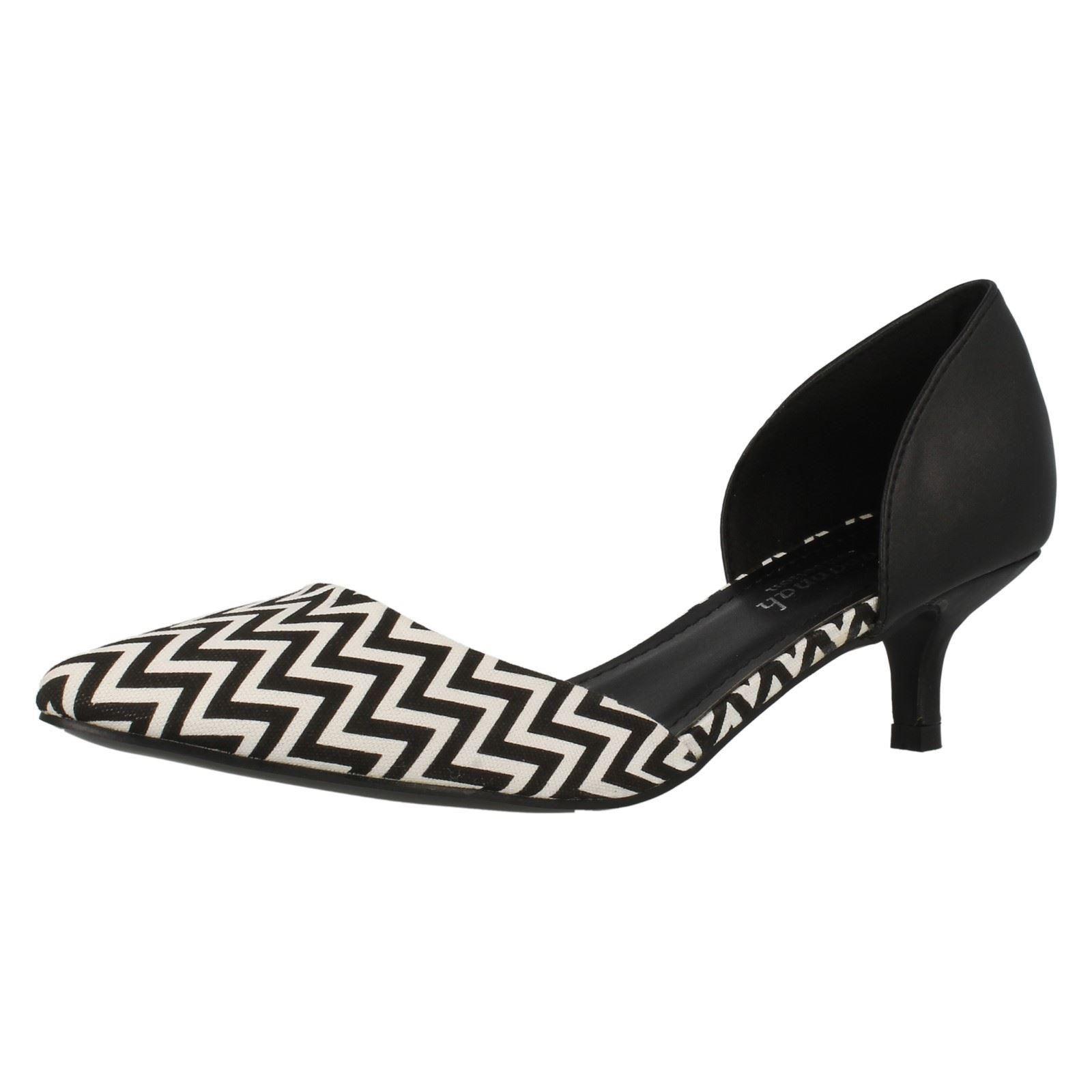 Ladies Savannah Slip On Smart Printed Shoes
