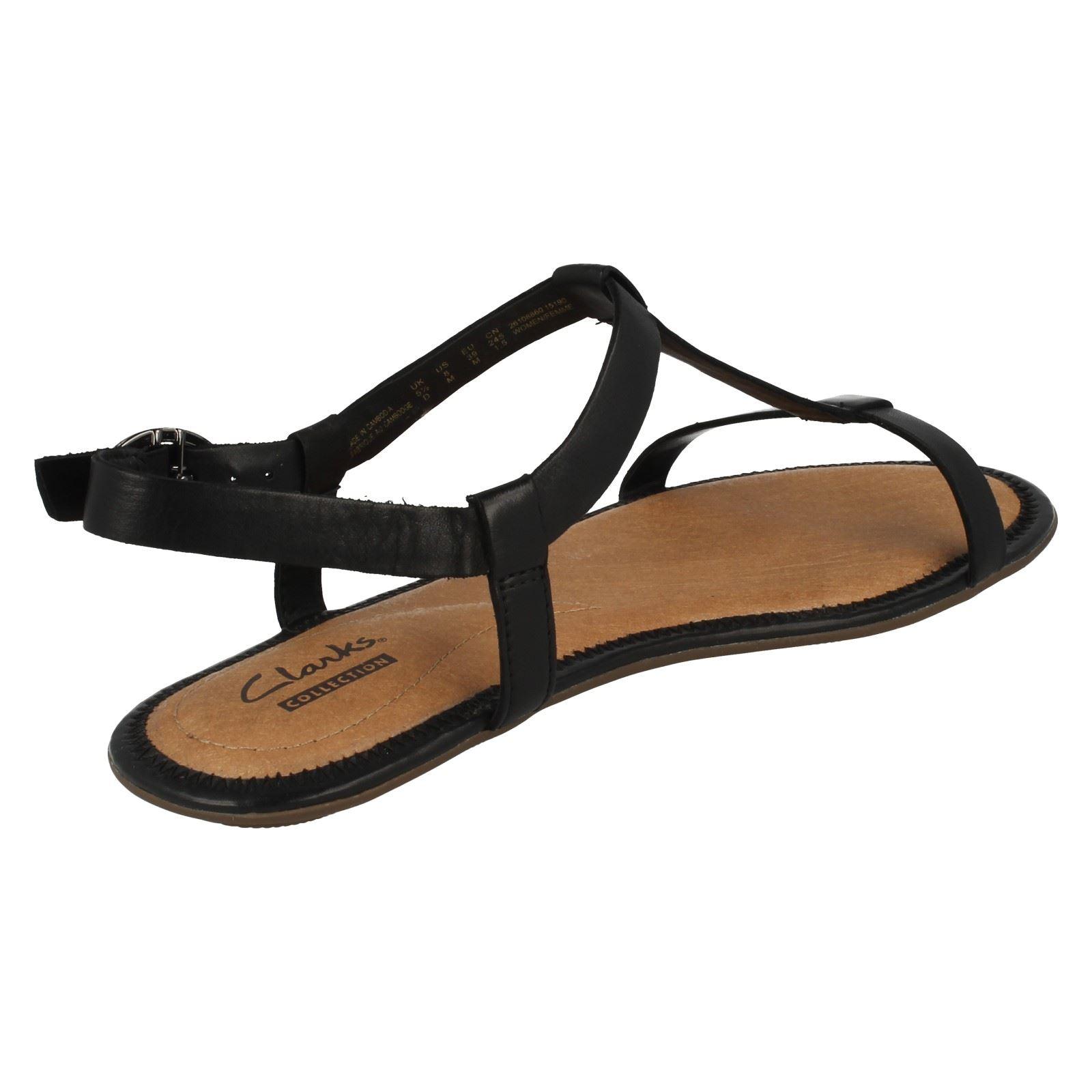 Ladies Clarks Strap Sandals Risi Hop Ebay