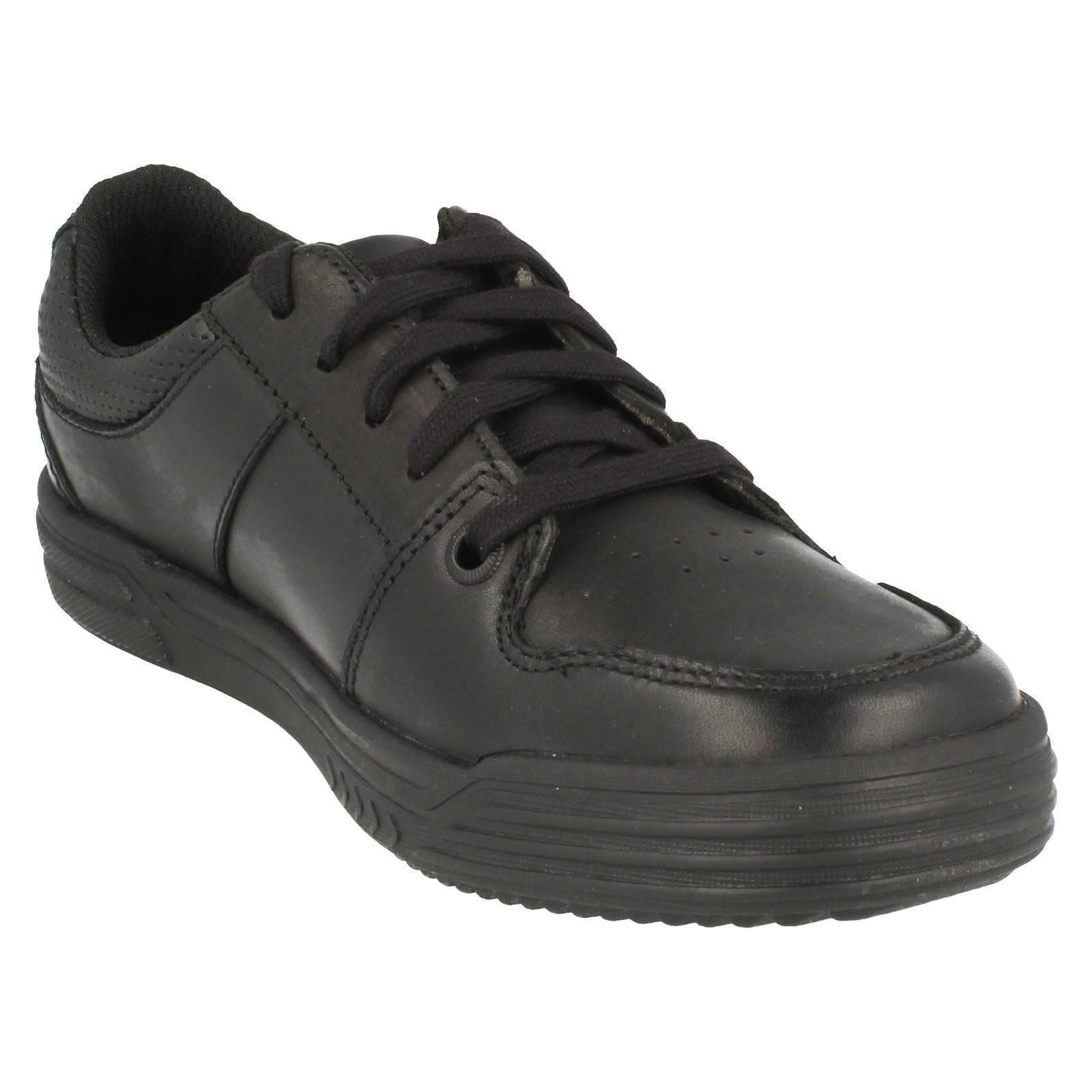 H Clarks Boy School Shoes