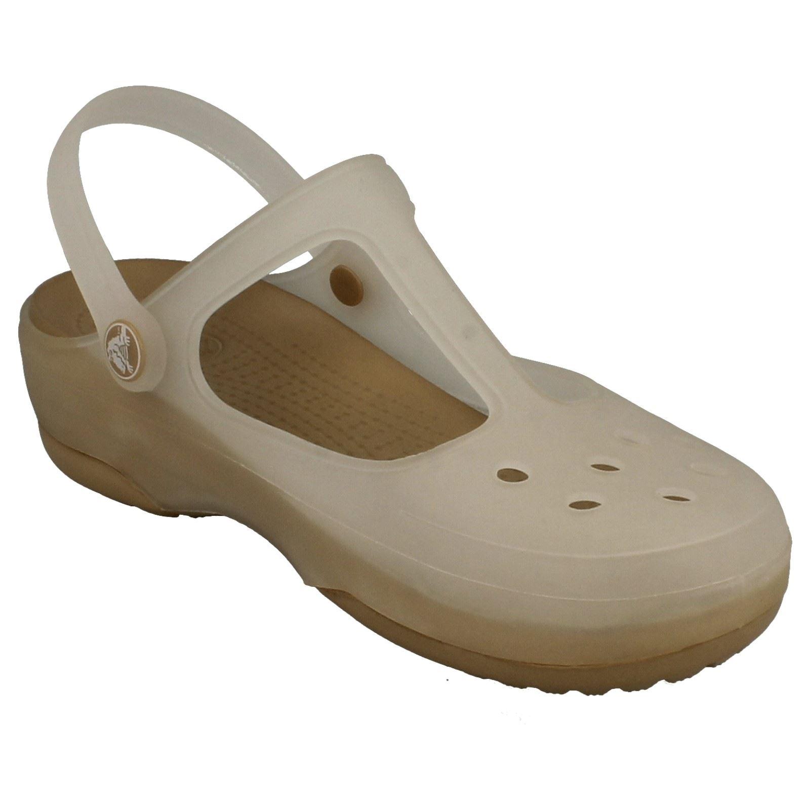 Ladies Crocs Slip On Sandals Carlie Mary Jane | eBay - photo#26