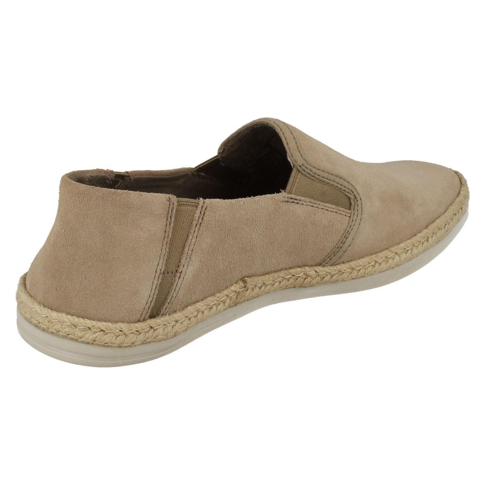 mens clarks suede leather slip on shoes bota step ebay