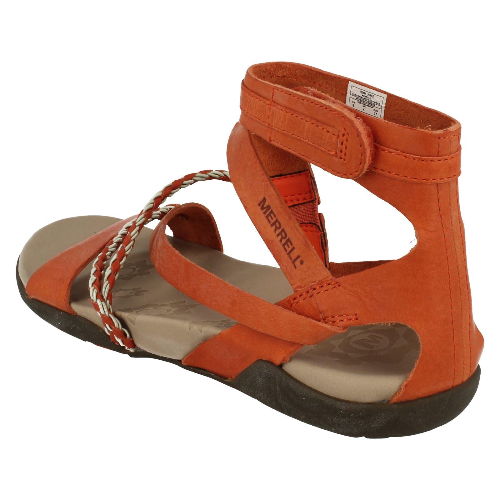 Merrell Ladies Sandals Henna Ebay