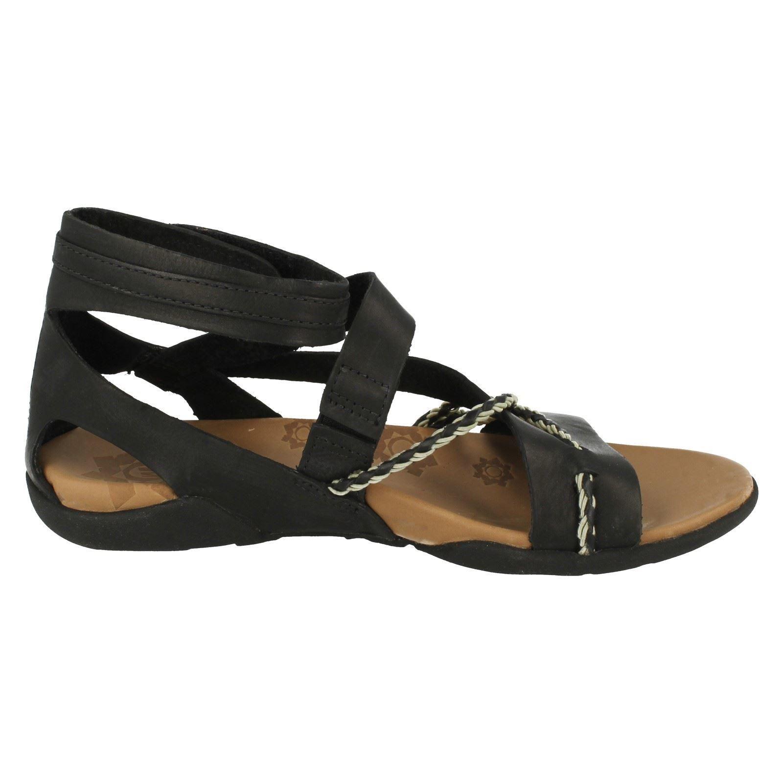 Ladies Merrell Summer Casual Gladiator Style Sandals Henna