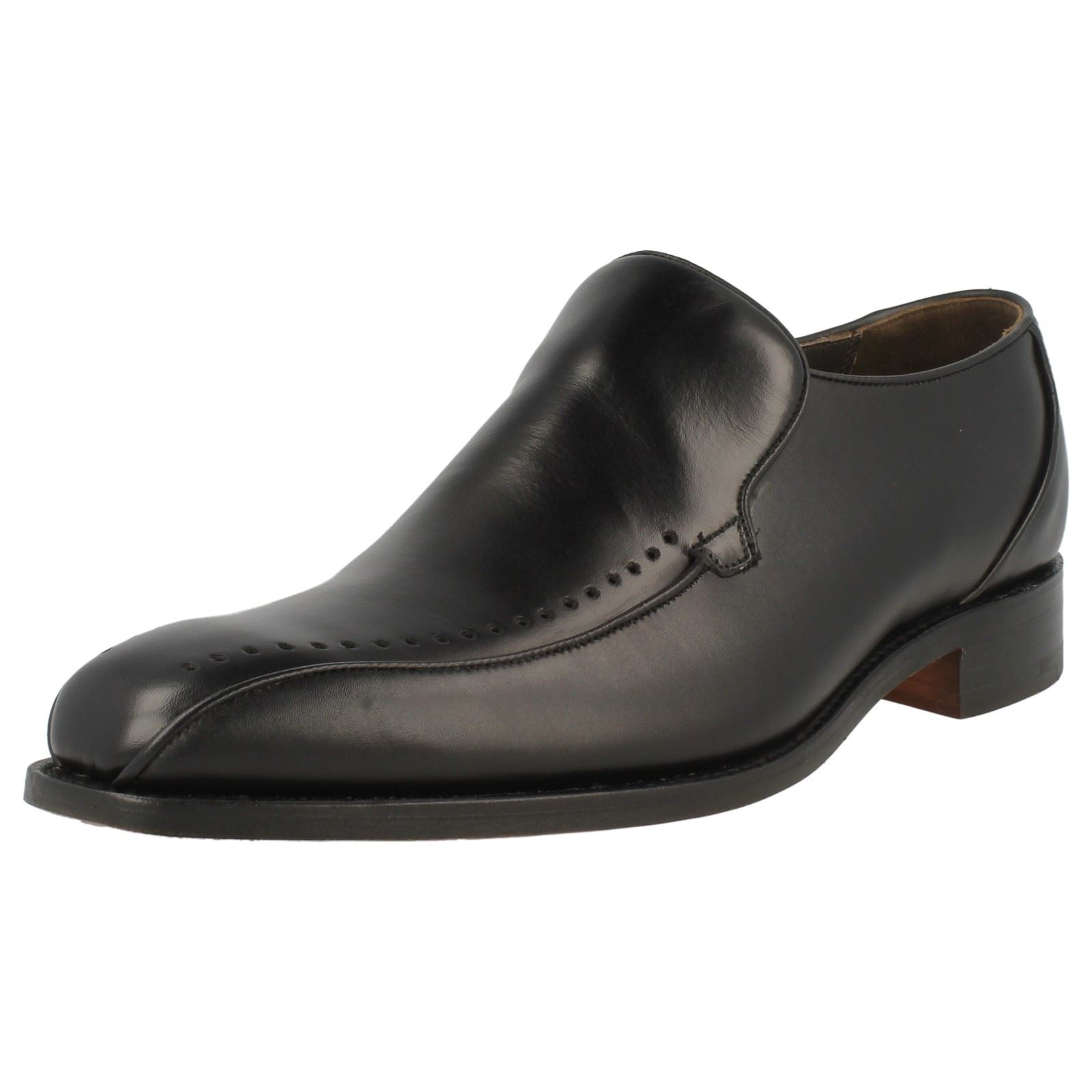 mens barker slip on leather shoes jolyon professional