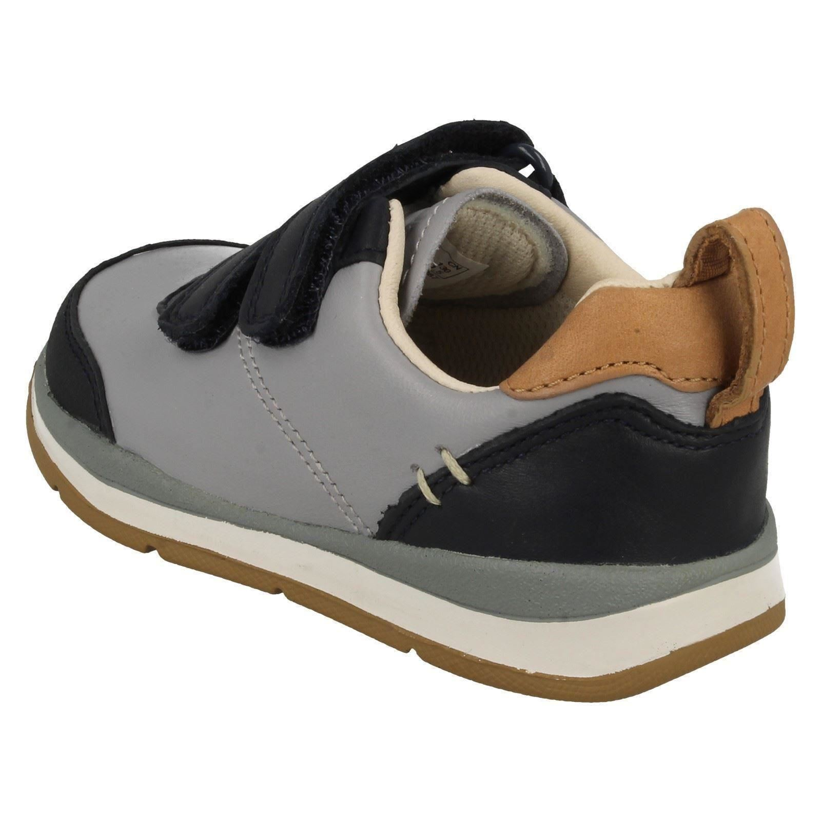 infant boys clarks stylish walking shoes ferris cap