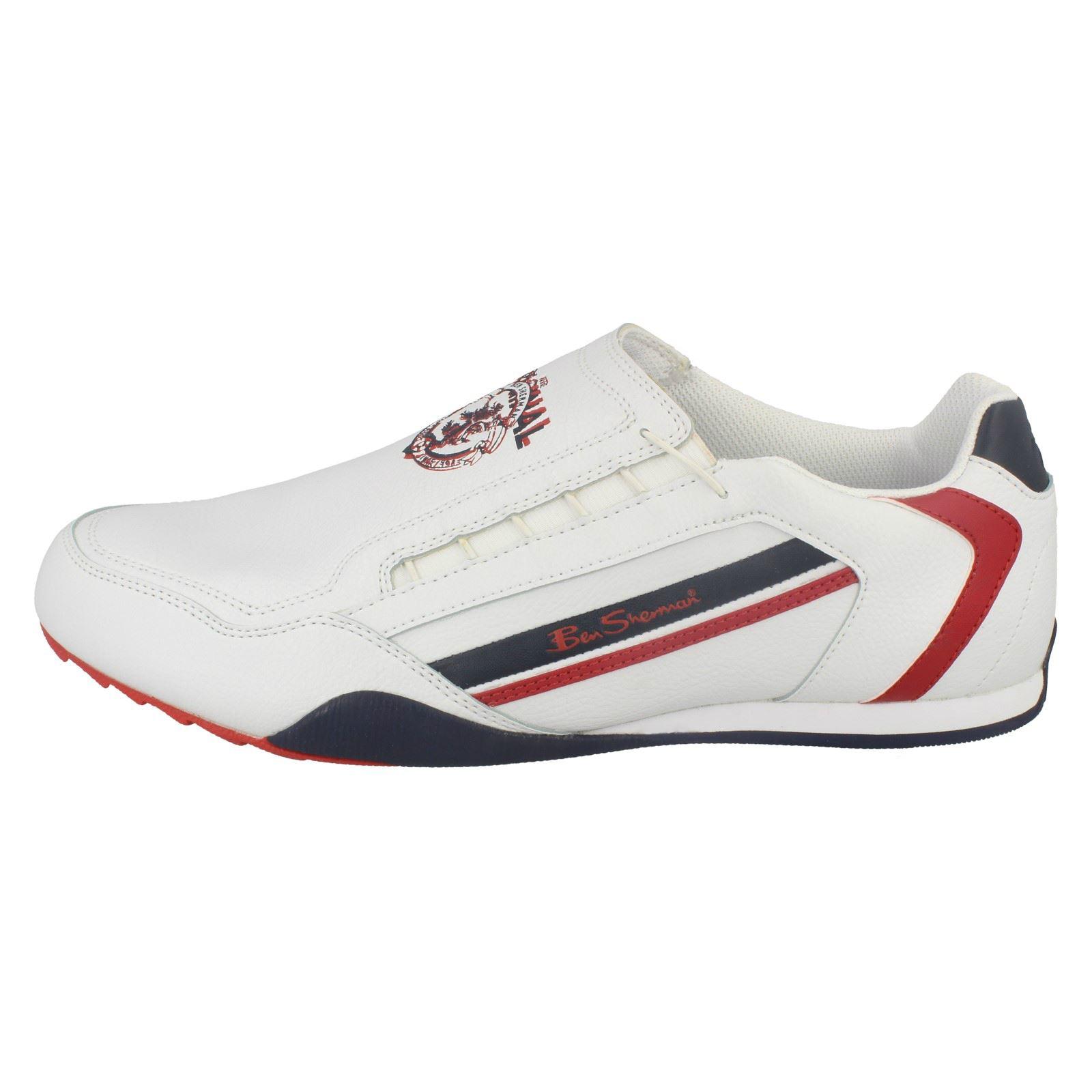 mens ben sherman elastic slip on casual shoes key west ebay