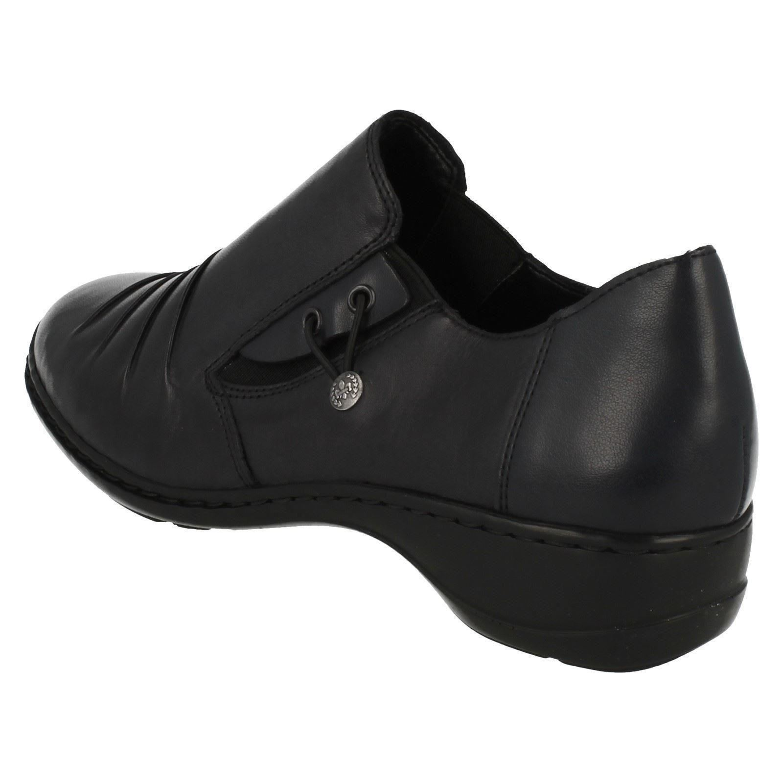 rieker antistress low wedge comfortable shoes 58353