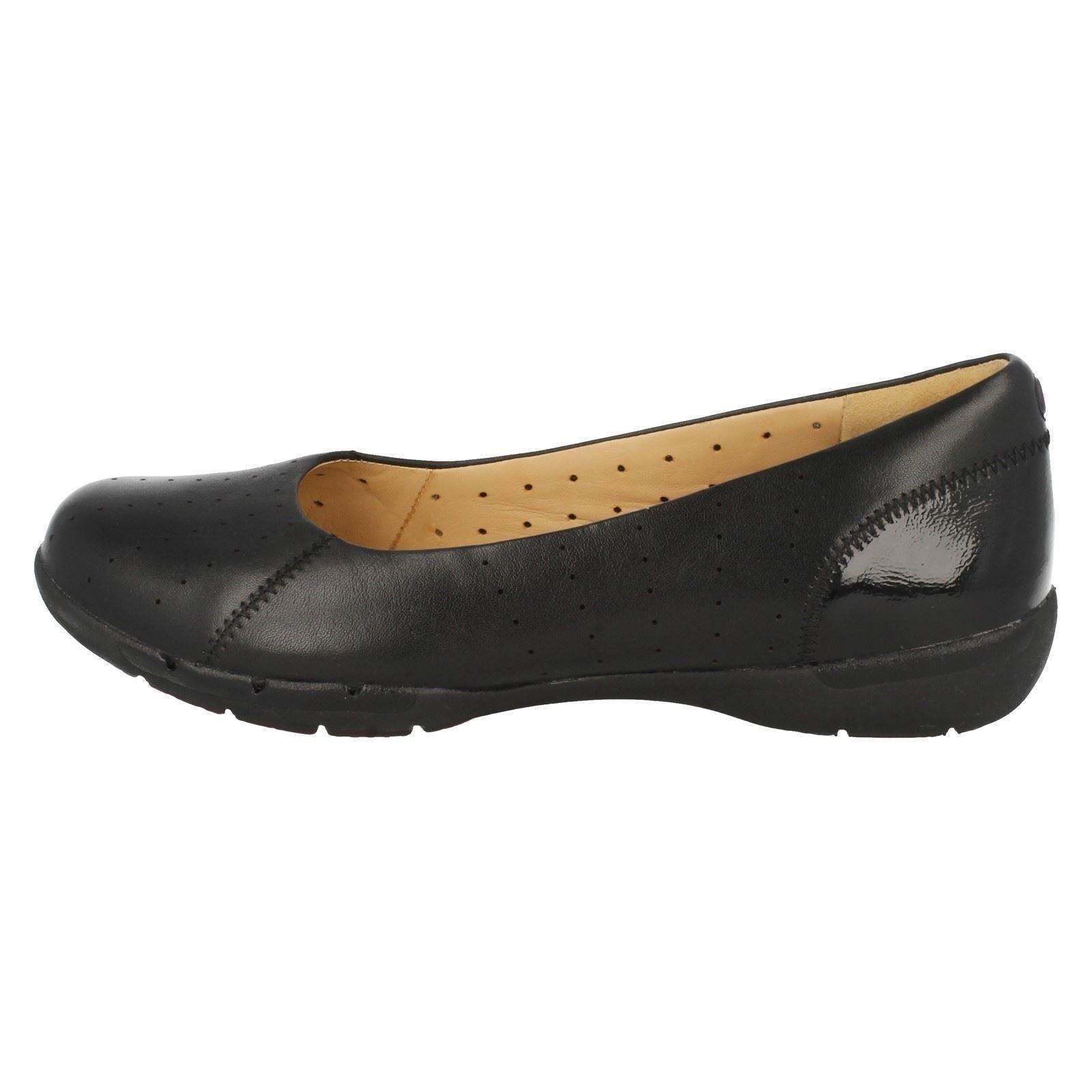 Beautiful New Clarks Unstructured Womens UNHELMA Bronze Leather
