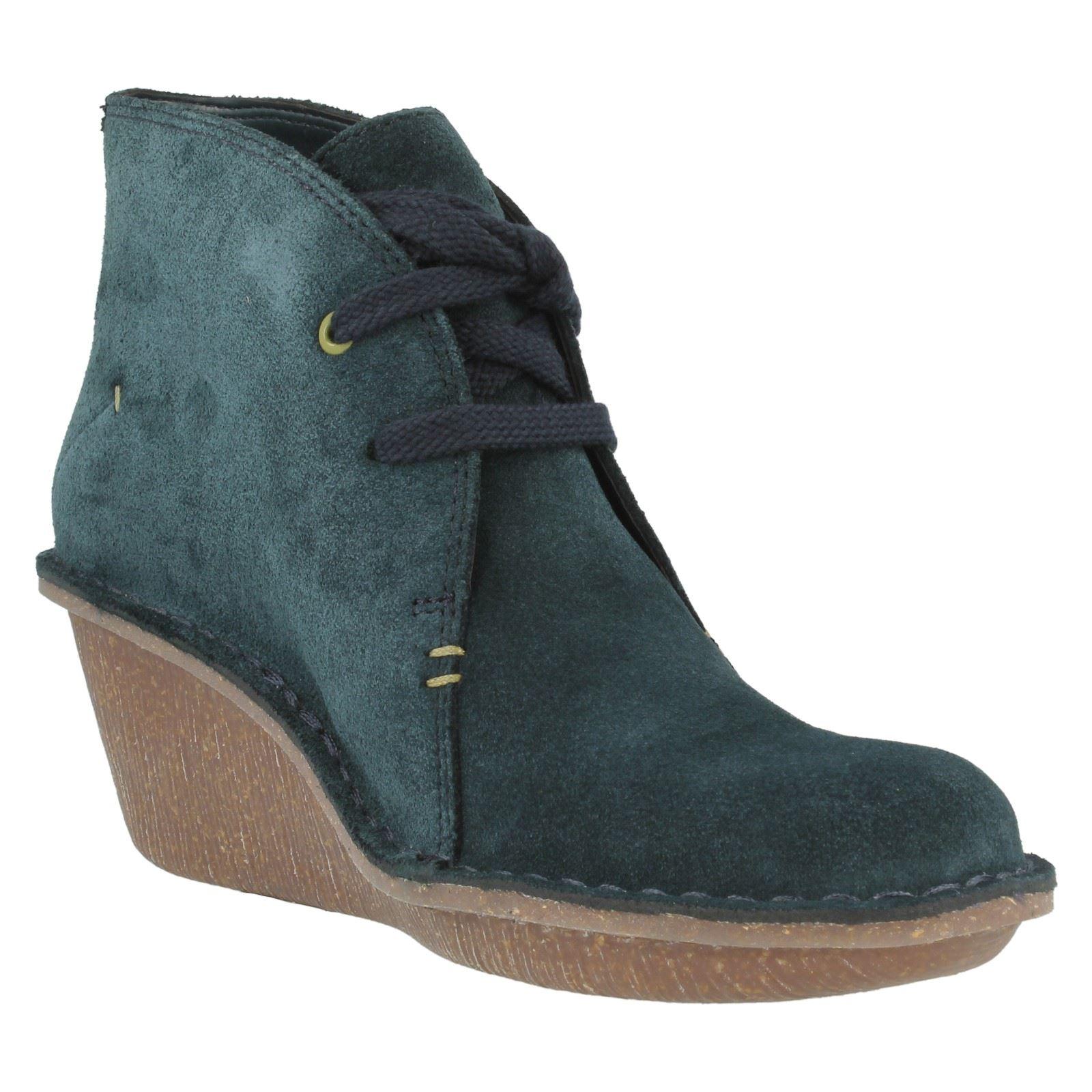 clarks marsden wedge boots ebay