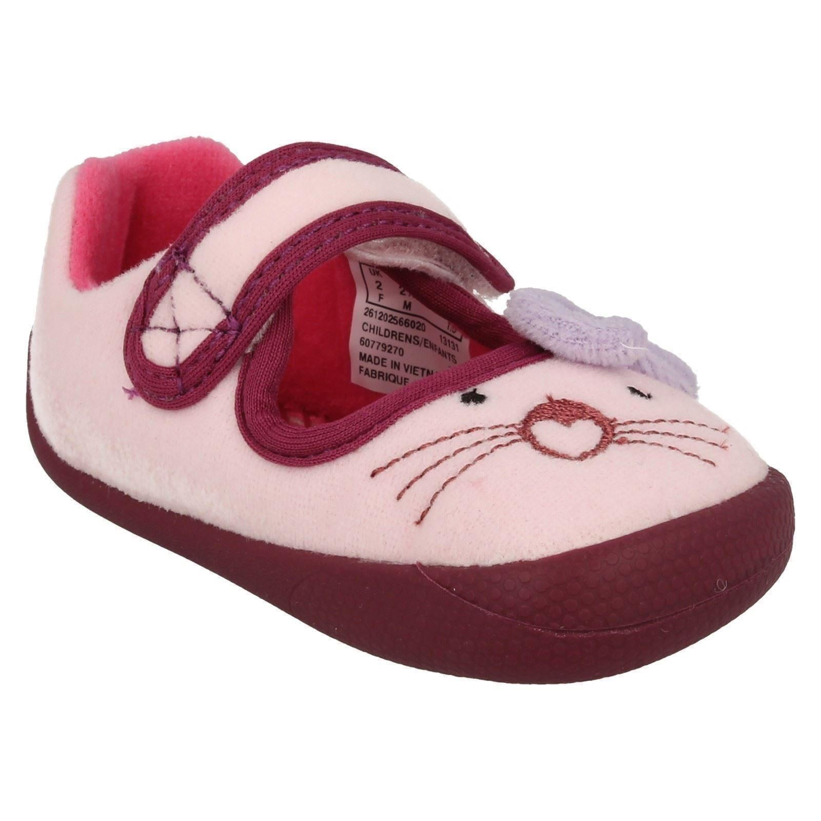 clarks childrens slippers