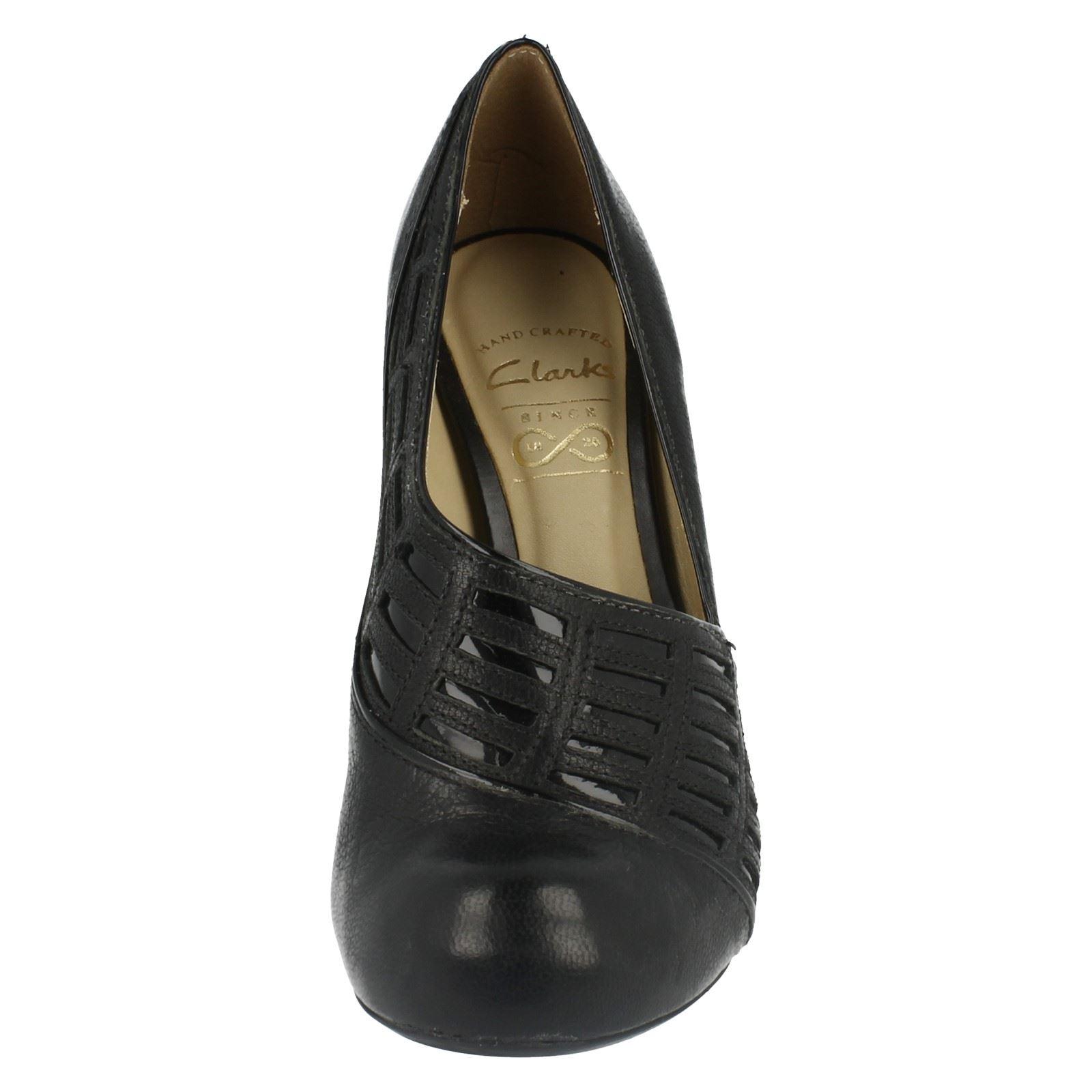 women s clarks sillian jetay slip on shoes black