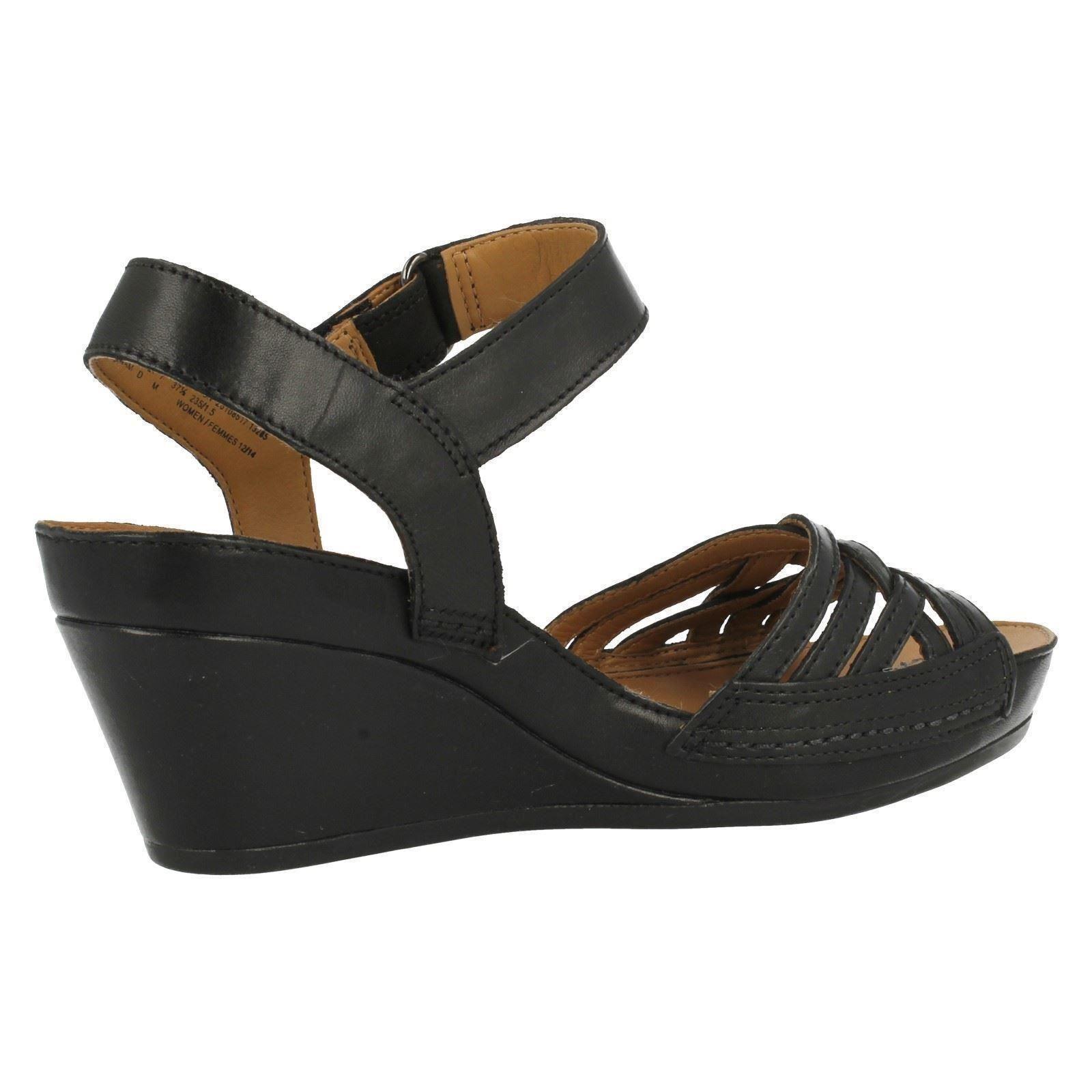 clarks wedge sandals wish ebay