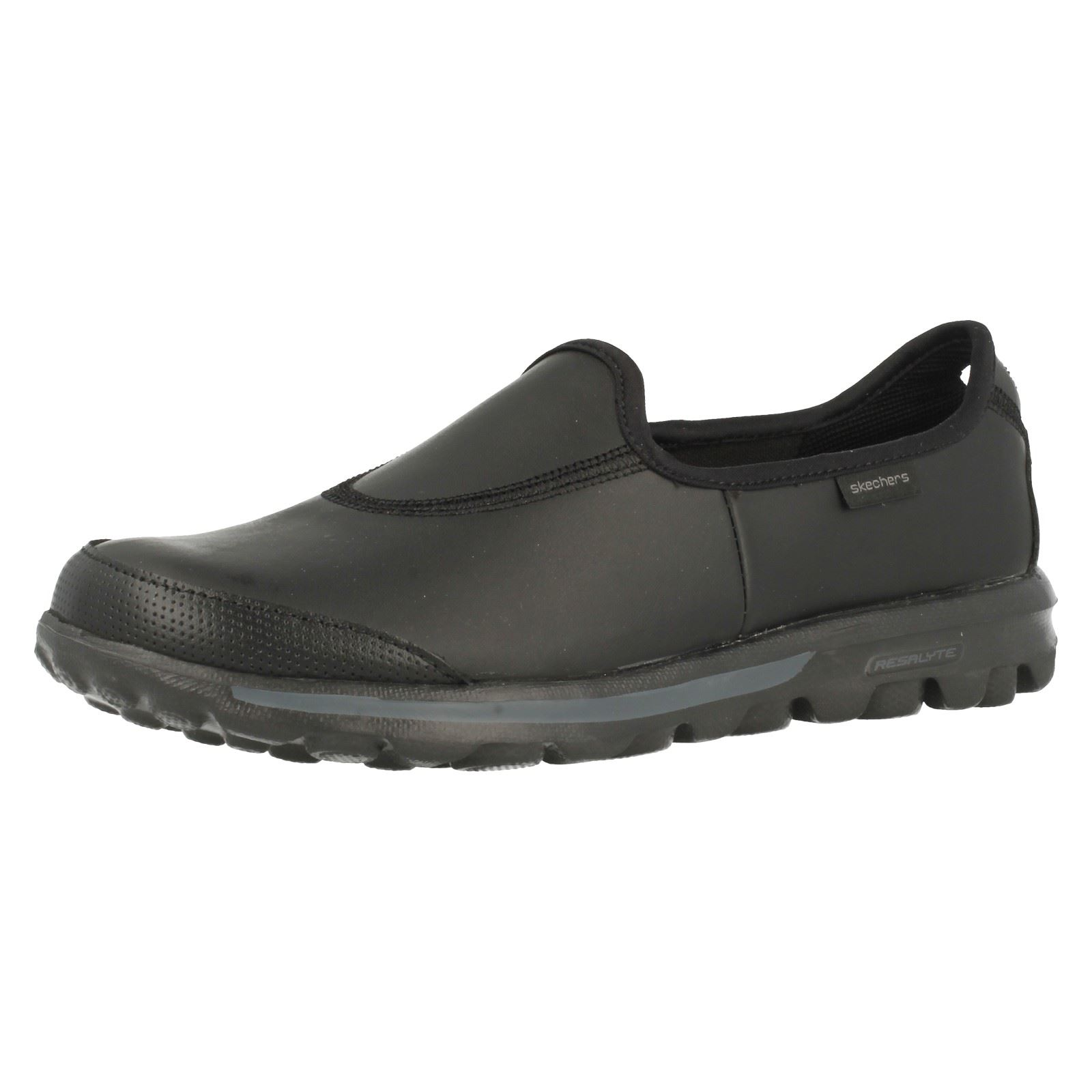 Details about Ladies Skechers Slip On Shoes - Go Walk Undercover 13512