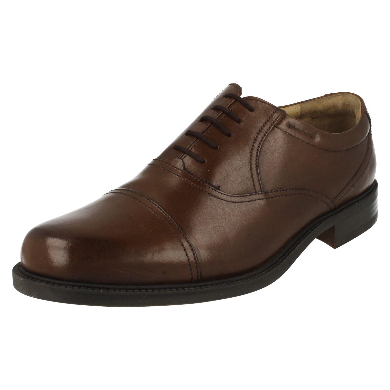 mens clarks formal oxford shoes bravo