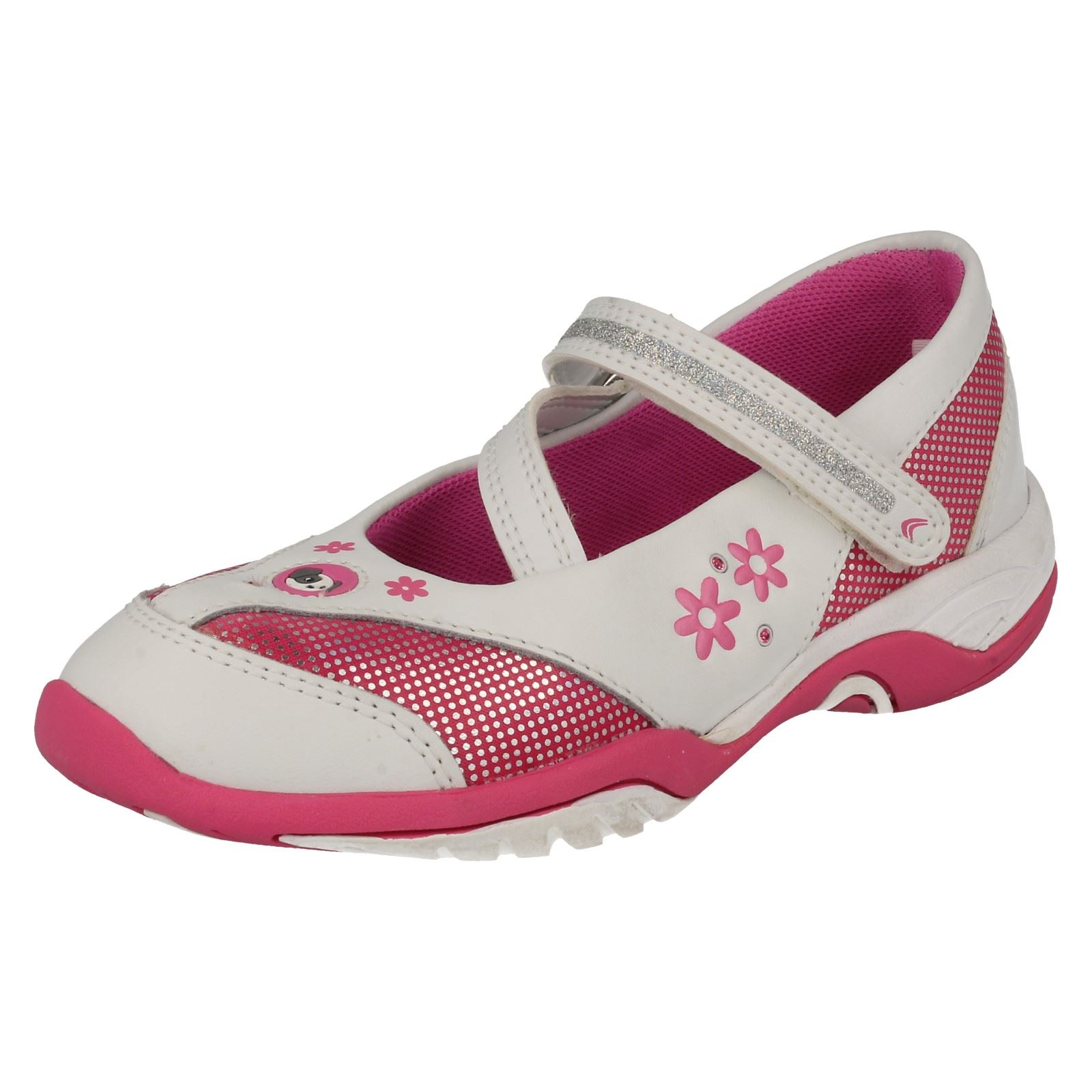 Toys For Trainers : Girls cica by clarks trainer shoes with toys daisy sun