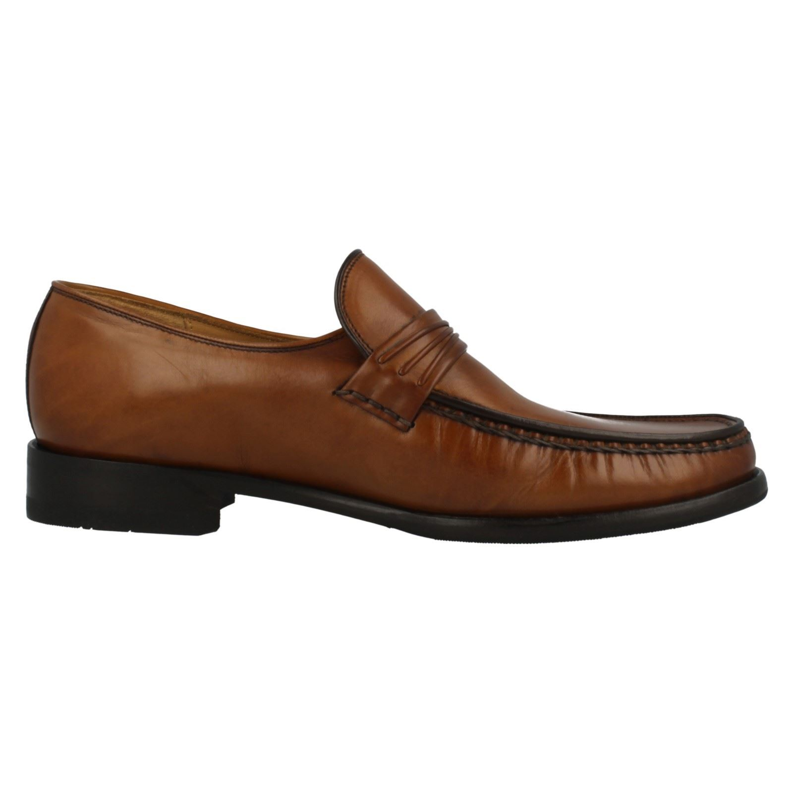 mens loake leather moccasin slip on shoes palermo 2 ebay