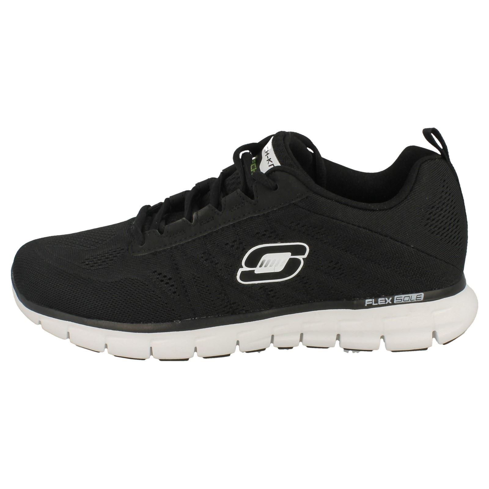 Mens Skechers Lightweight Memory Foam Lace Up Trainers Power ...