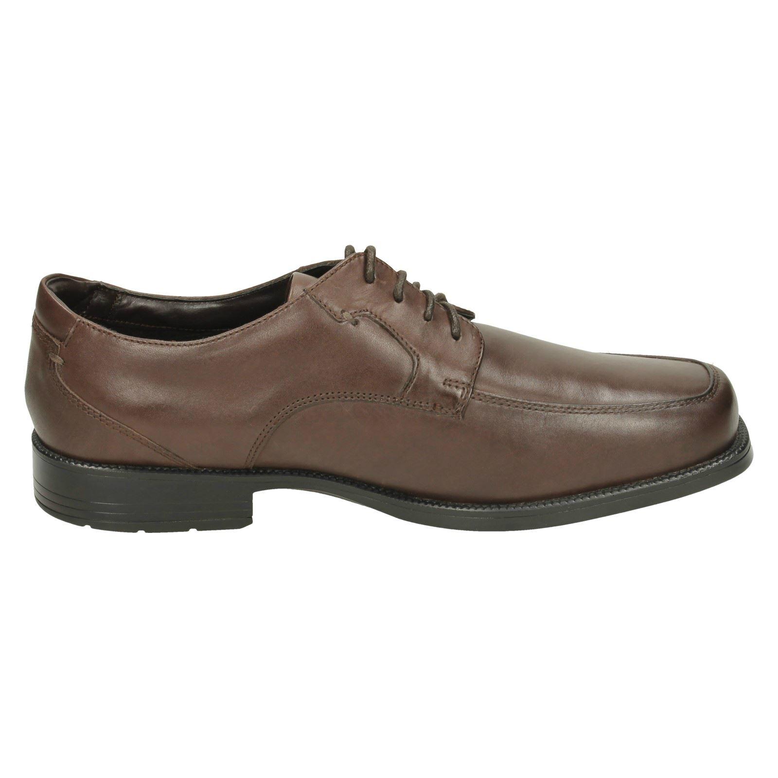 mens rockport formal lace up shoes ebay