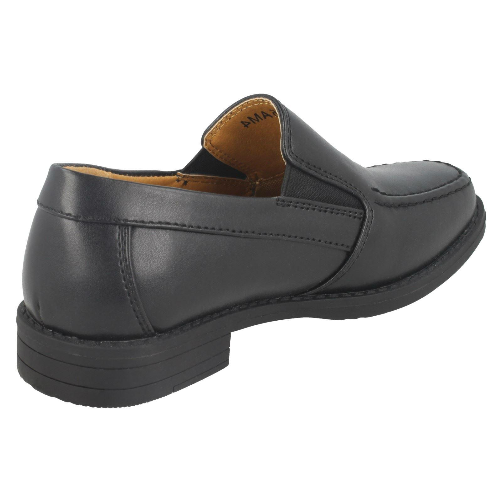 Boys Clarks Smart Slip On School Shoes Corris Step