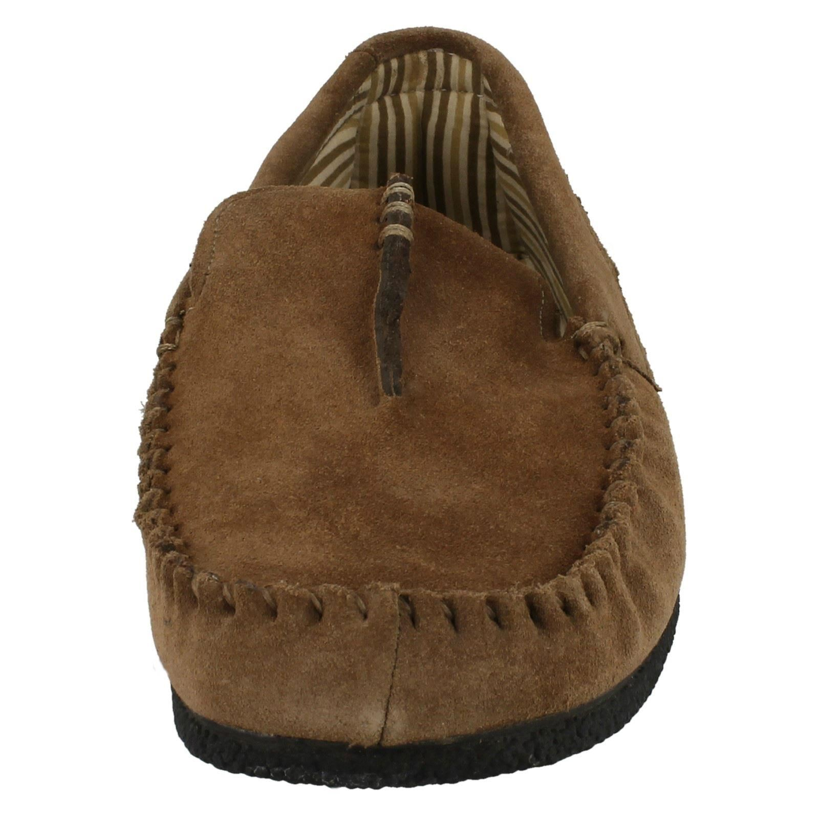 Clarks Mens Moccasin Style Slippers - Kite Driver