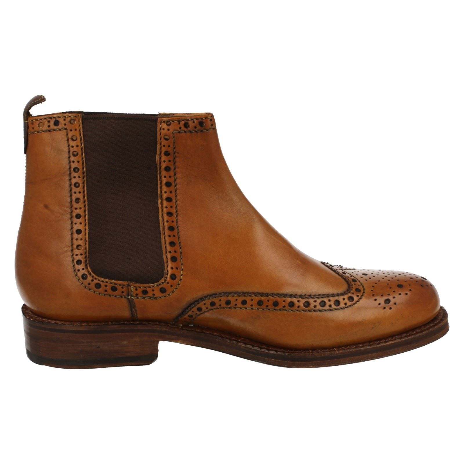 mens grenson smart pull on boots sharman 5035 ebay
