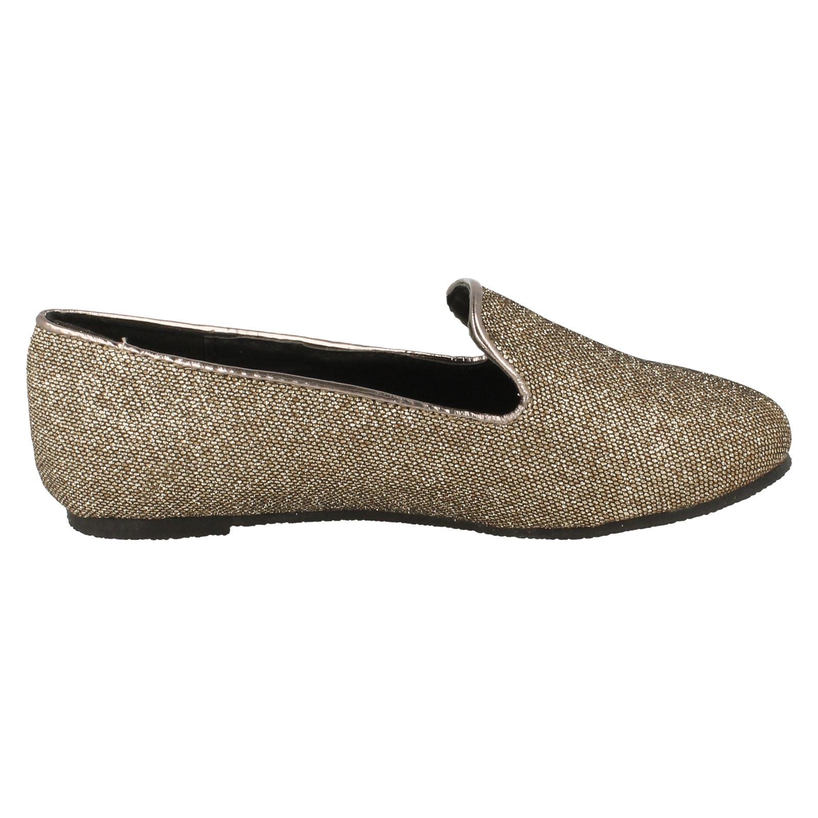 Girls Cutie H2253 Flat Slipper Cut Glitter Ballerina | eBay