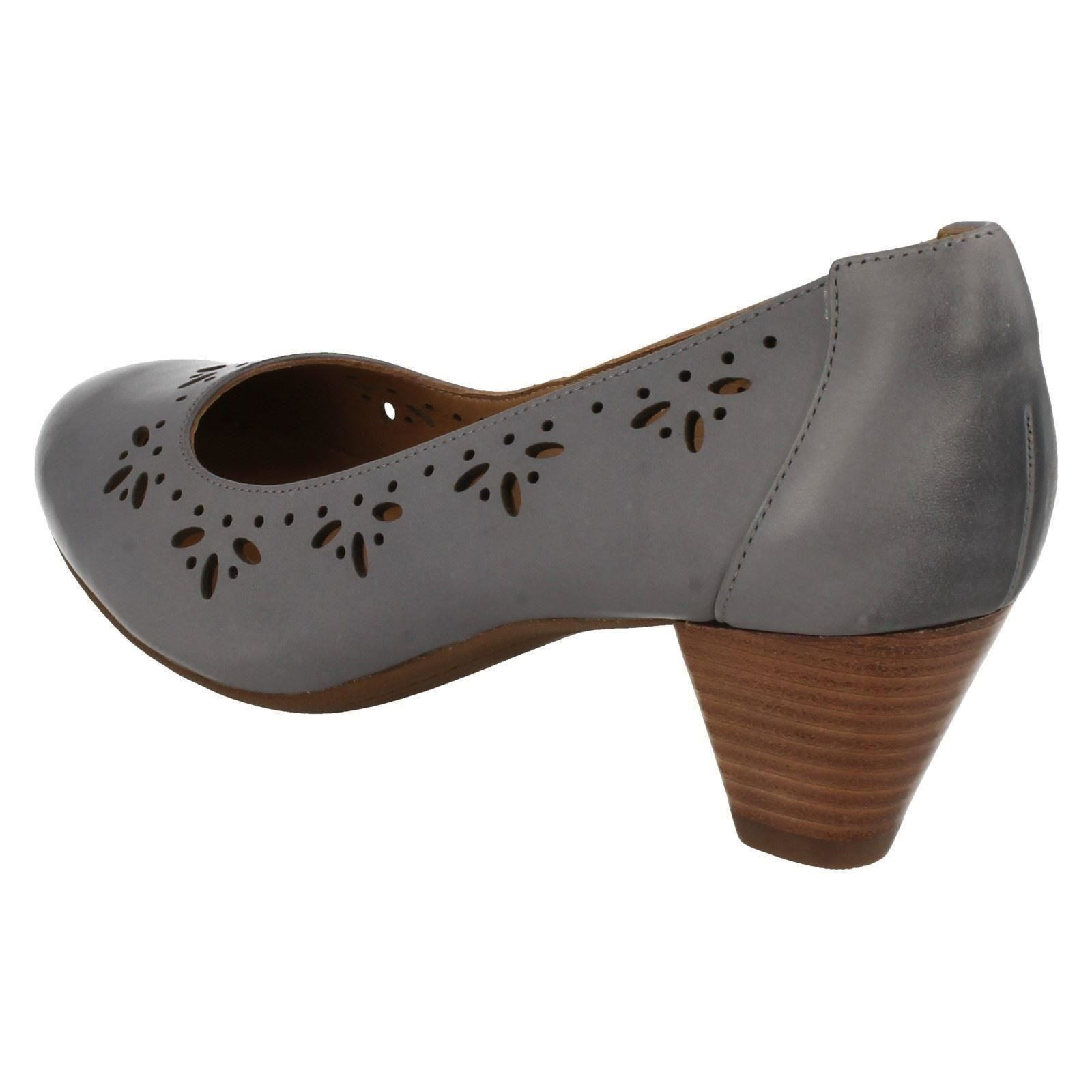 Leather Court Shoes Wide Fit