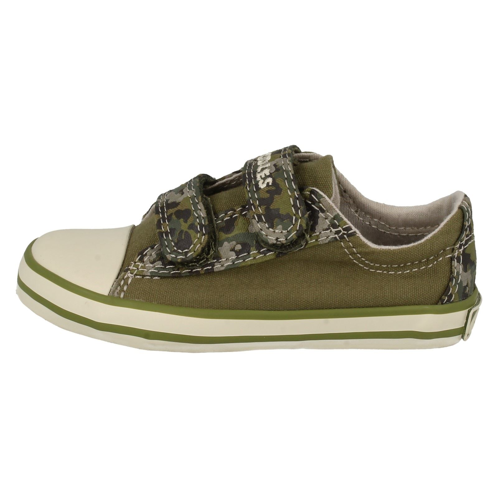 boys clarks canvas shoes happy chap fst ebay