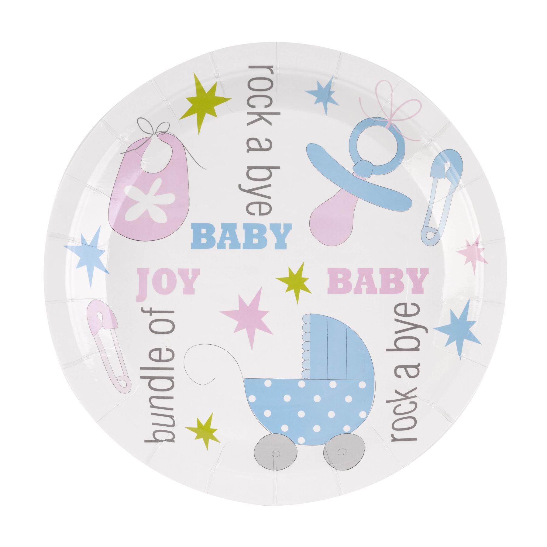 baby shower party supplies pink blue tableware neutral decorations