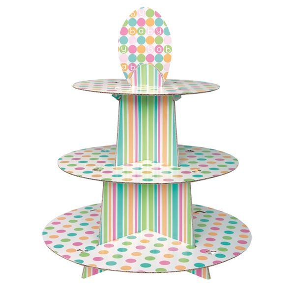 Baby Shower Neutral Decorations Uk ~ Pastel polka dot baby shower unisex boy girl party