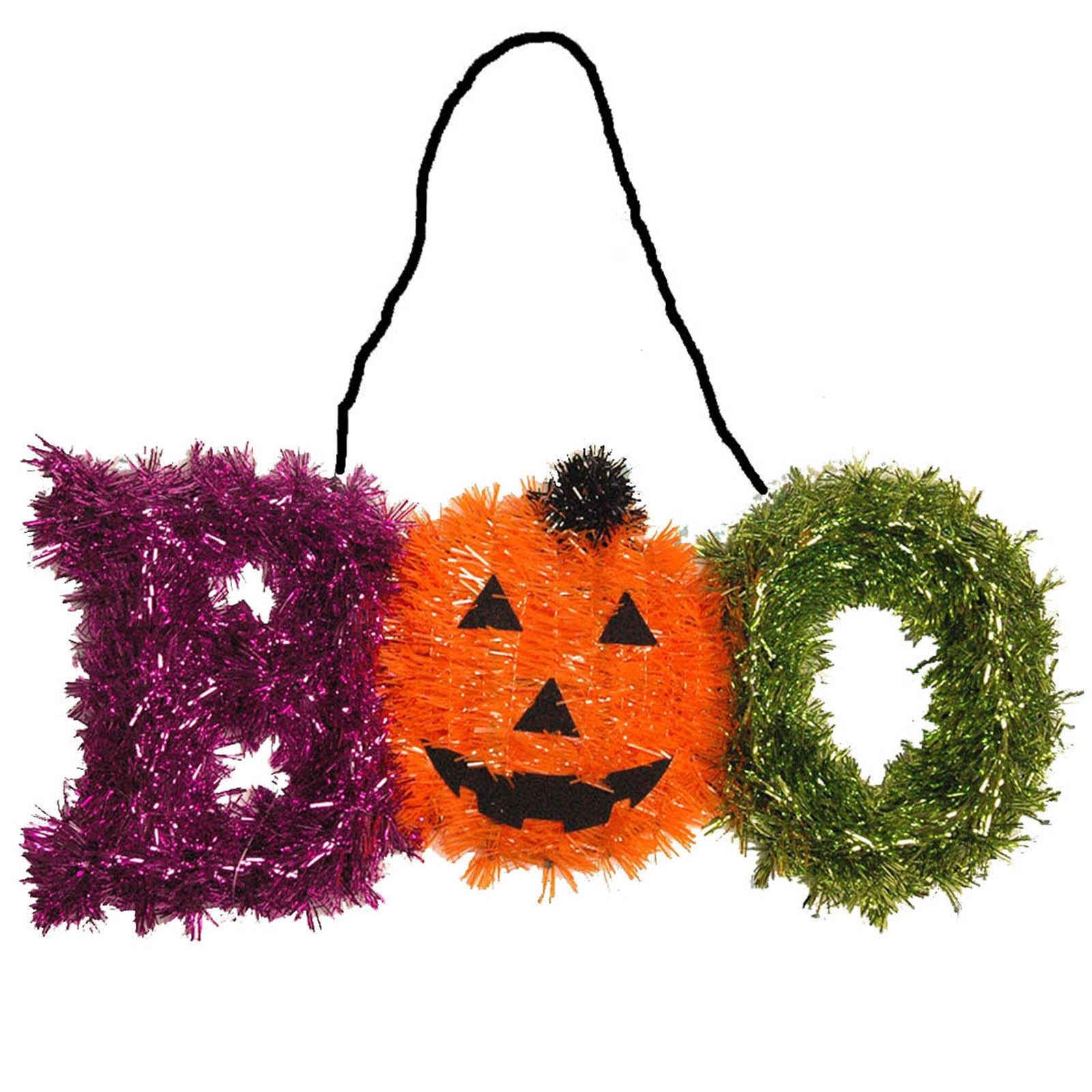 Halloween tinsel party decoration pumpkin ghost garland