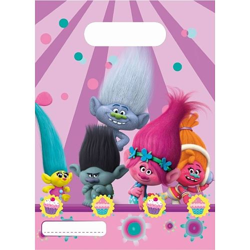 Dreamworks Trolls Birthday Party Decorations Banner