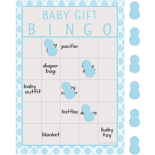 baby shower games boys girls scratch cards bingo activites game party