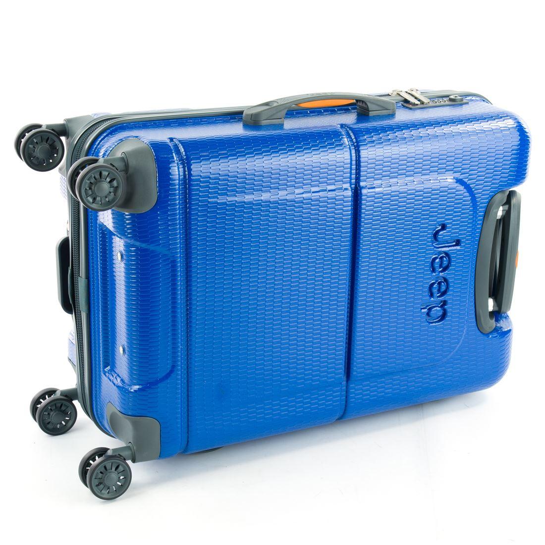 042e1b3151 Jeep Dune 4 Wheel Large / Medium / Cabin Hardside Suitcase | eBay