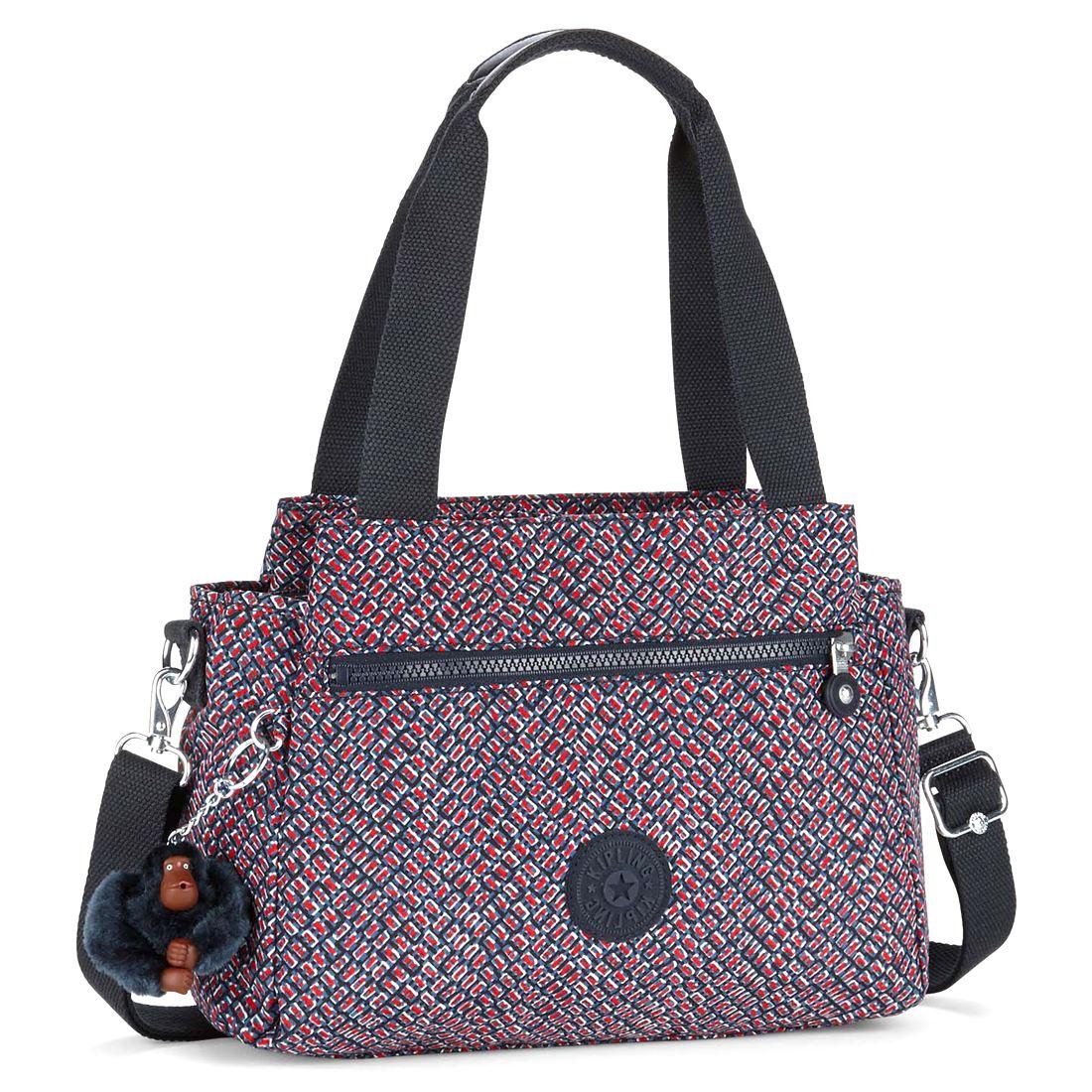 Simple Kipling DOMINICA Womenu0026#39;s Cross-body Bag Blue (REF35L Woven Haven) 30.5x29.5x18 Cm (B X H X T ...