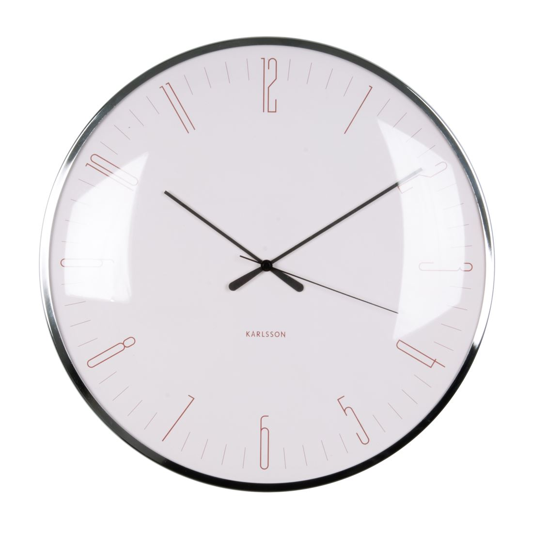 Karlsson Dragonfly 40cm Home Or Office Domed Wall Clock