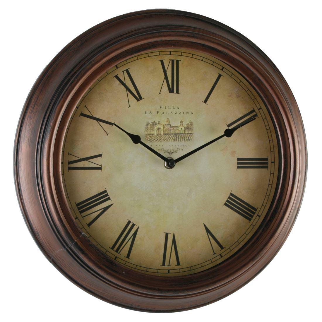 Hometime Antique Effect Case 35cm Roman Dial Wall Clock  : 99ec34c8 4060 4210 a83c a750c87ff3de from www.ebay.co.uk size 1100 x 1100 jpeg 125kB