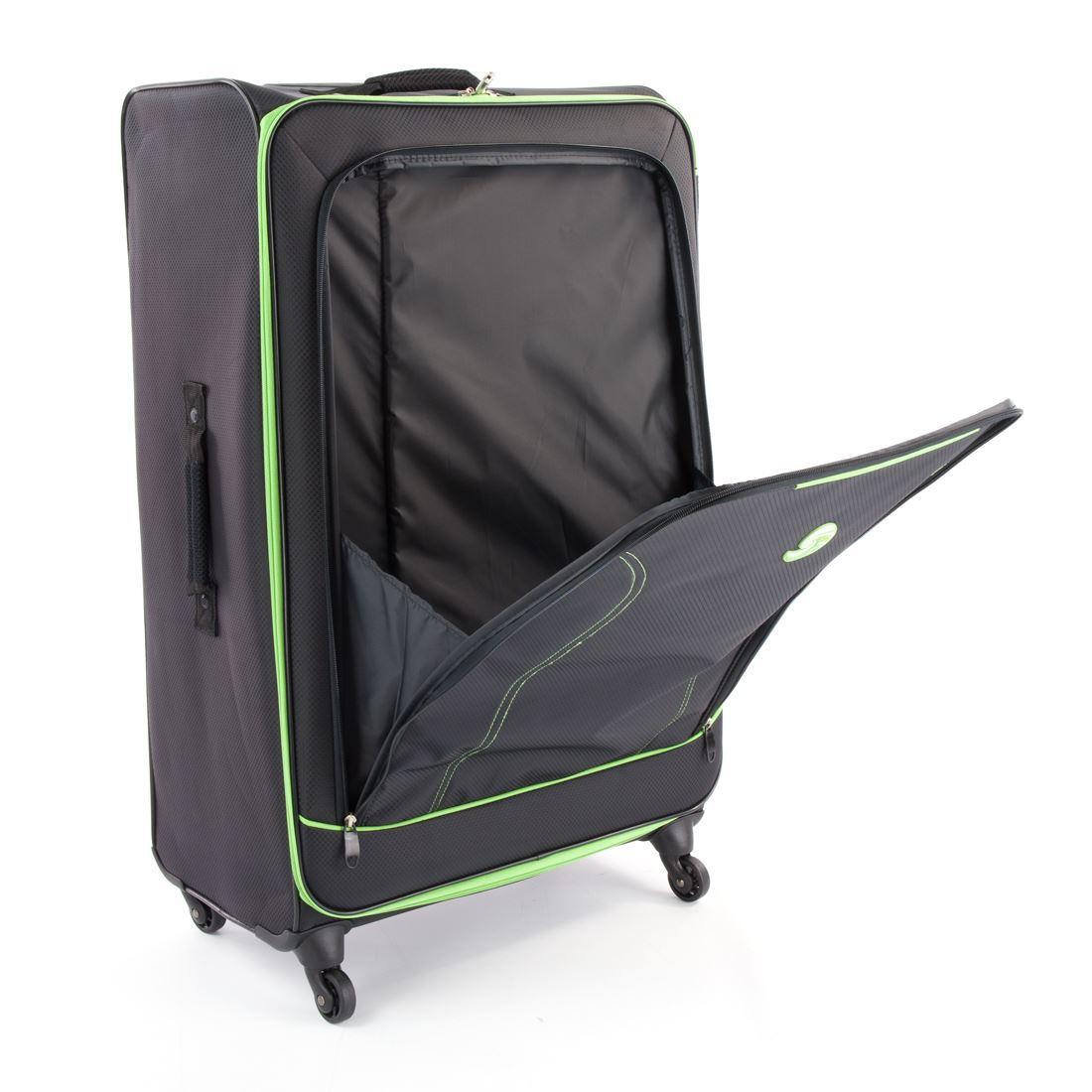 Eco Lite Soft Side 4 Wheel Large & Medium, 2 Wheel Small &amp ...