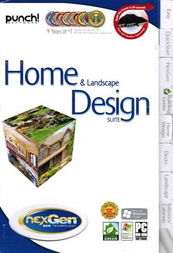 punch home amp landscape suite   nexgen decks design