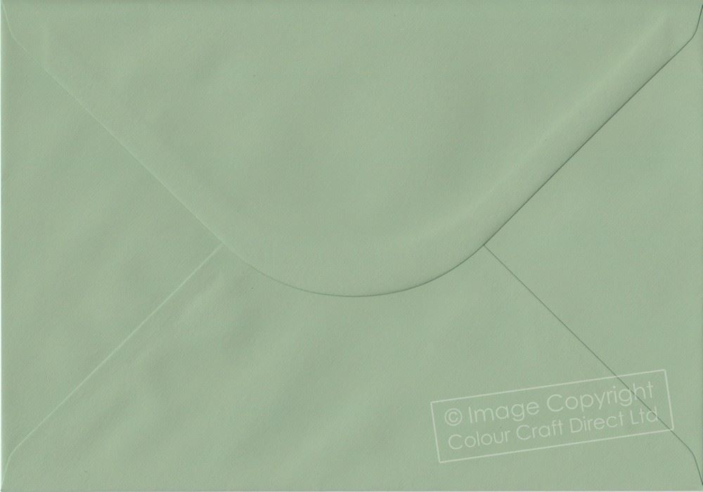 Heritage Green C5 Envelopes - 162 mm x 229 mm Gummed A5 Size Colour Envelopes
