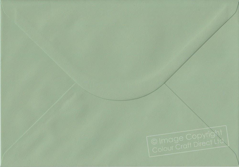 RARE! Heritage Green C5 Envelopes 162mm x 229mm Gummed A5 Size Colour Envelopes