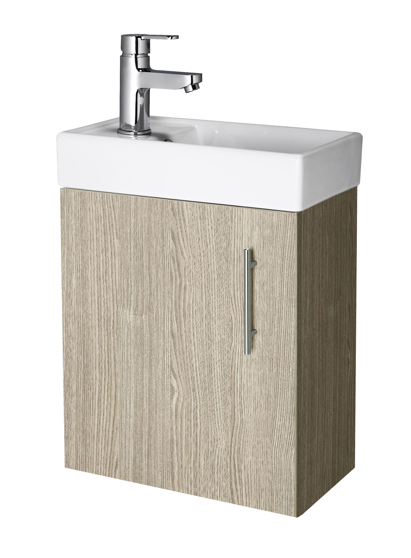 400mm Modern Bathroom Cloakroom Vanity Unit Basin Sink