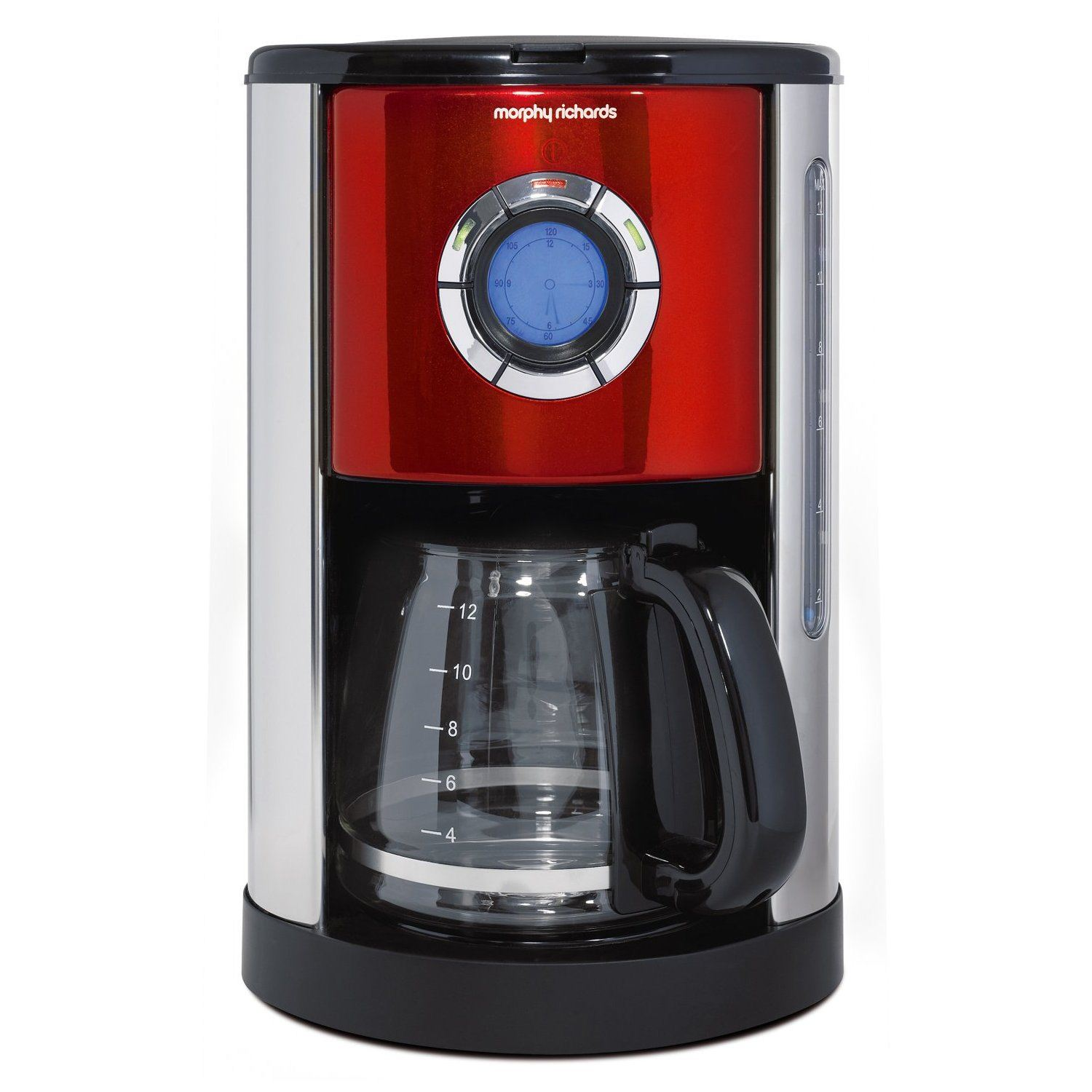 Morphy Richards Accents 47094 Digital Filter 12 Cups Coffee Maker Red eBay