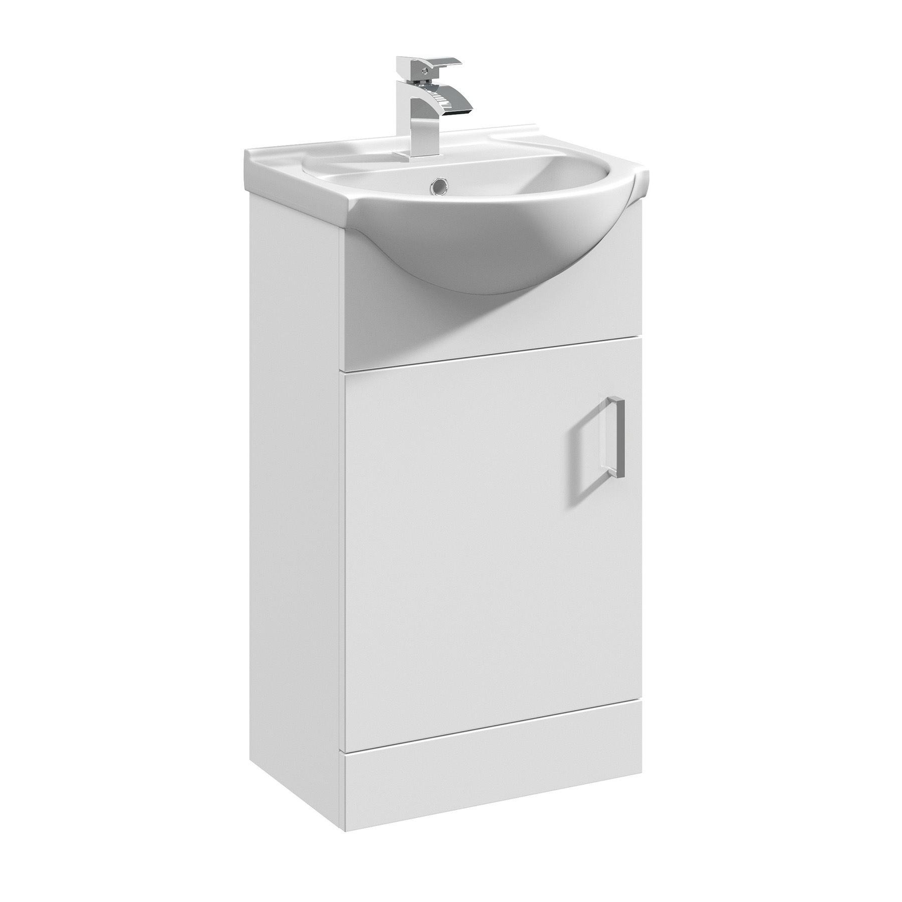 ... -Bathroom-Vanity-Unit-Cloakroom-Cabinet-Cupboard-Ceramic-Sink-Basin