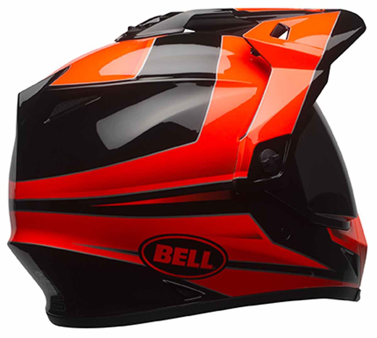 bell mx 9 adventure dual sport adv touring motorcycle dot helmet ebay. Black Bedroom Furniture Sets. Home Design Ideas