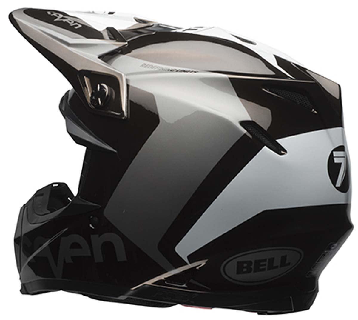 bell moto 9 carbon flex off road dirt bike motorcycle helmet ebay. Black Bedroom Furniture Sets. Home Design Ideas